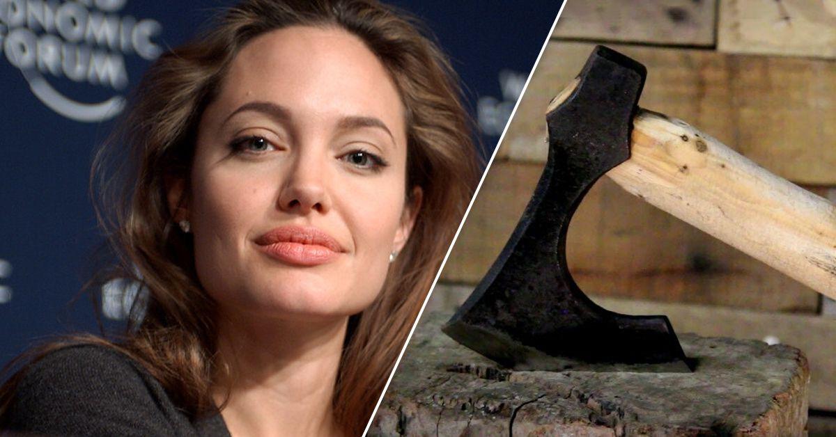 Angelina Jolie Explains Her New Axe Hobby