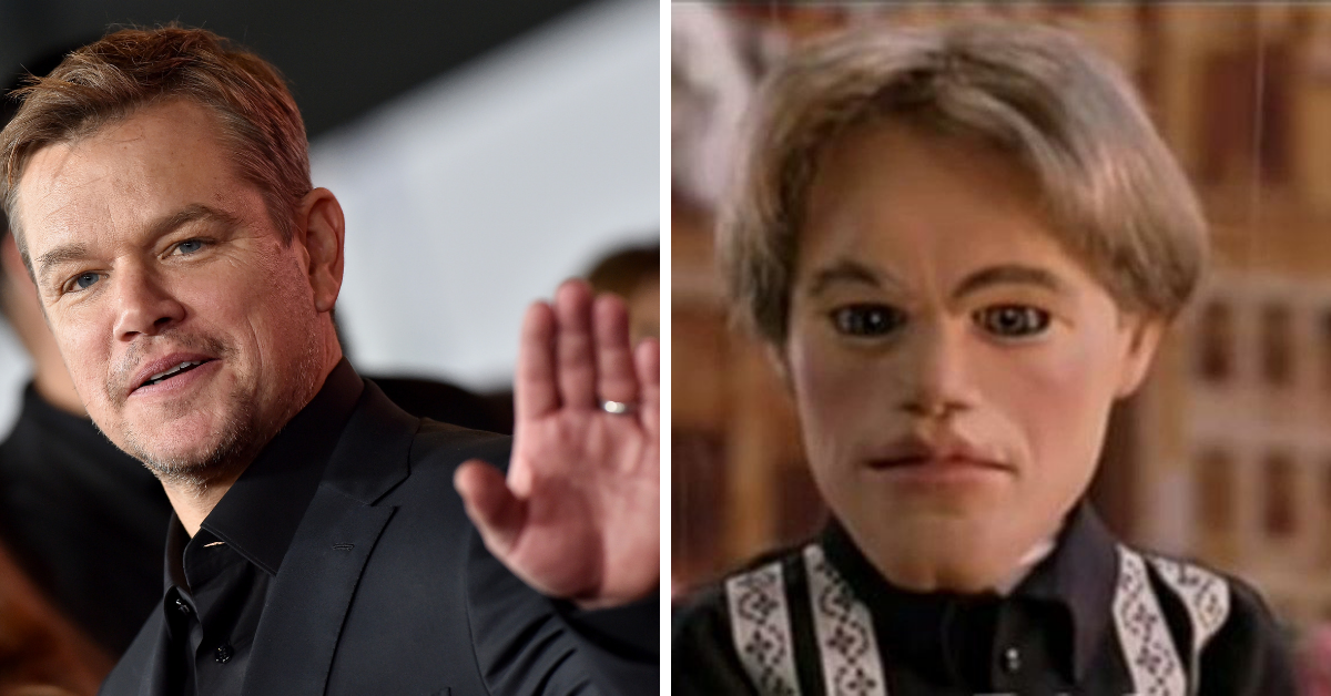 How Does Matt Damon Feel About His 'Team America' Puppet?