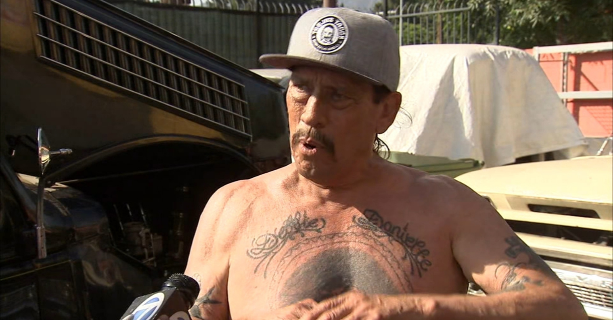 The Truth About Danny Trejo's Chest Tattoo