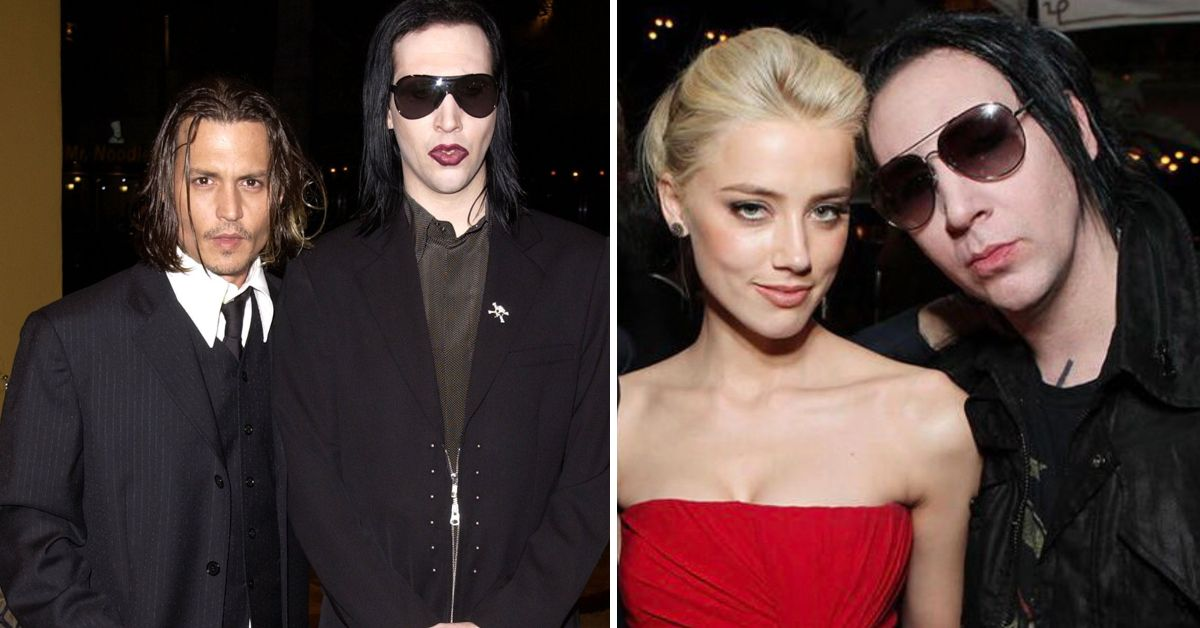 Fans Think Marilyn Manson Pulled Out Of This Show Because Amber Heard Was In It