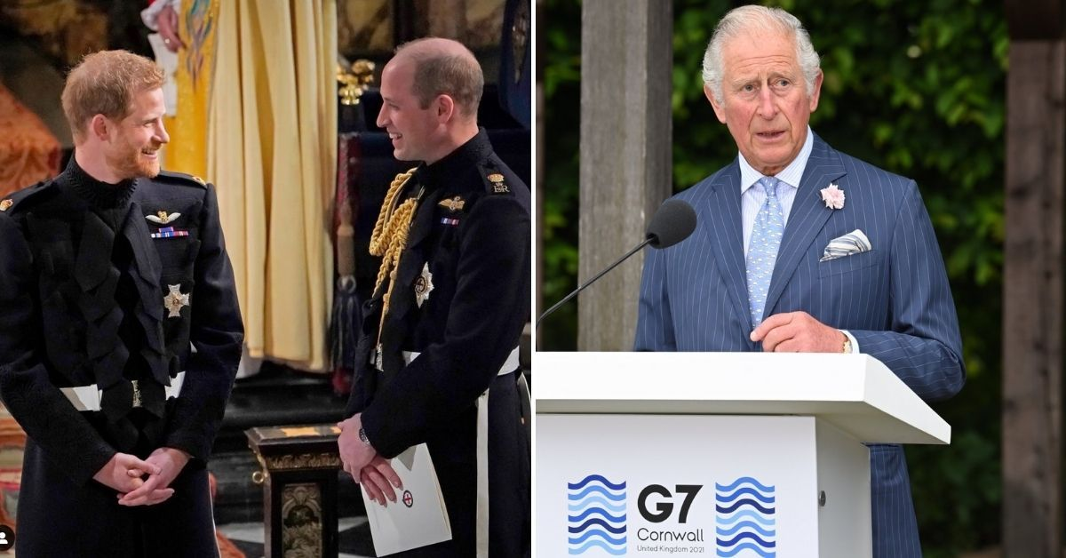 Here's Why Prince Harry's Memoir Is Making Prince William And Prince Charles Nervous
