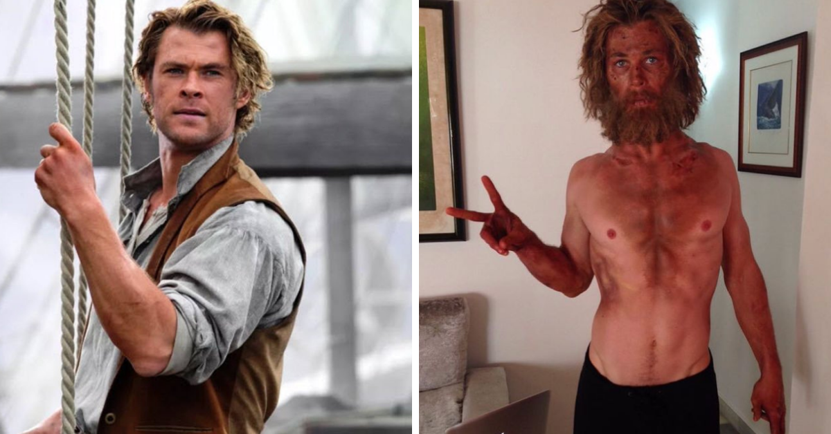 """Chris Hemsworth Went On A Crazy Diet For """"In The Heart Of The Sea"""""""